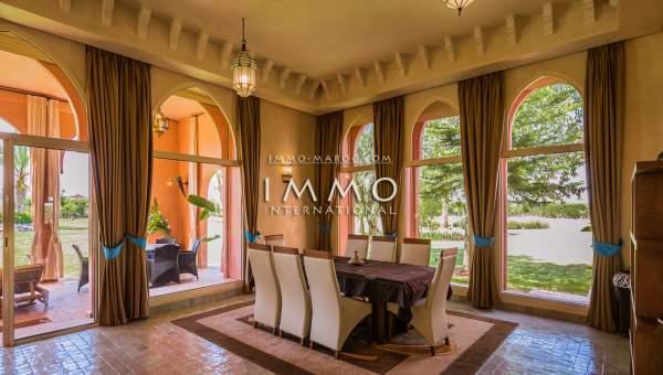 villa achat Marocain Marrakech Extérieur Route Sidi Abdellah Ghiat