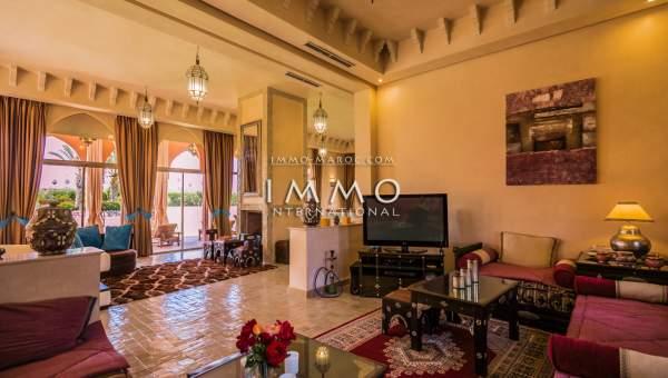 Vente villa Marocain Marrakech Extérieur Route Sidi Abdellah Ghiat