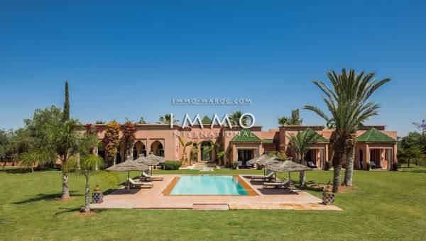 Achat villa Marocain Marrakech Extérieur Route Sidi Abdellah Ghiat