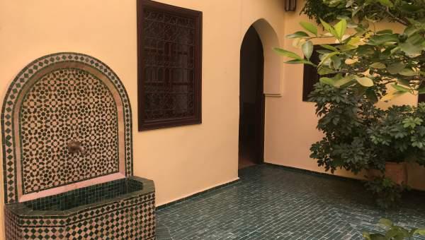 ryad Restaurant Marrakech Place Jamaa El Fna Dabachi