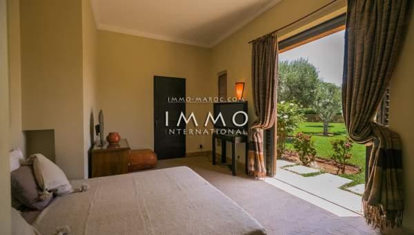 Maison à vendre Marocain épuré agence immobiliere de luxe marrakech Marrakech