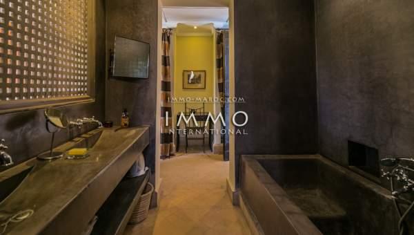 Vente maison Marocain épuré luxe Marrakech