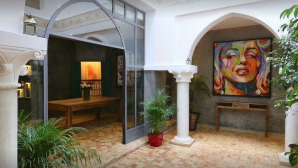 Riad à vendre immobilier luxe à vendre marrakech Marrakech Place Jamaa El Fna Dar El Bacha