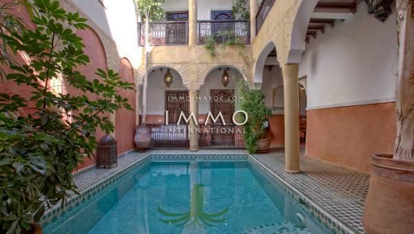 Riad à vendre Maison d'hôtes Marrakech Place Jamaa El Fna Dabachi