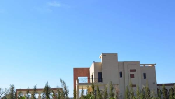 villa vente Marocain épuré Marrakech Extérieur Route Ourika