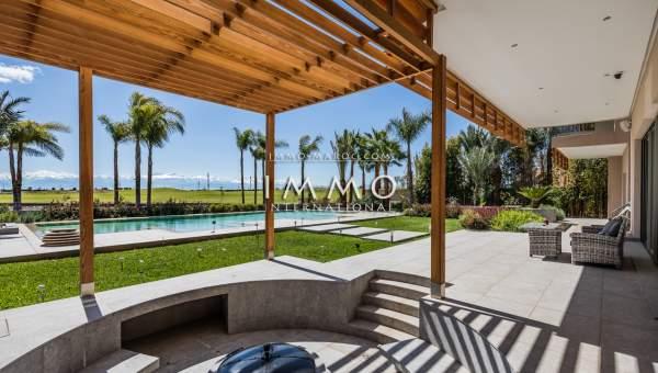acheter maison Contemporain prestige a vendre Marrakech Golfs Amelkis