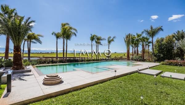 Maison à vendre Moderne de prestige Marrakech Golfs Amelkis