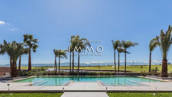 villa achat Moderne Prestige Marrakech Golfs Amelkis