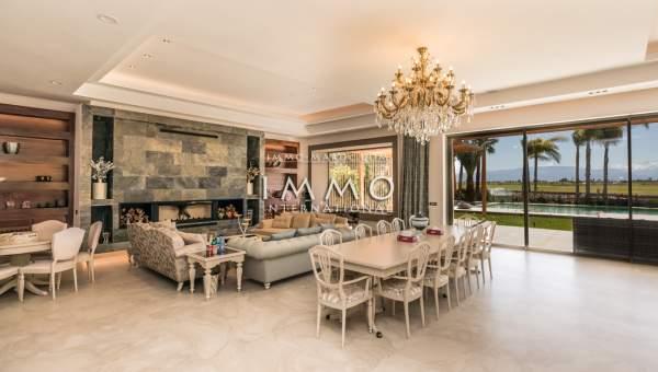 Villa à vendre Contemporain biens de prestige marrakech Marrakech Golfs Amelkis