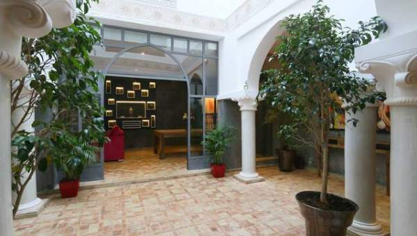 Vente riad Marrakech Place Jamaa El Fna Dar El Bacha