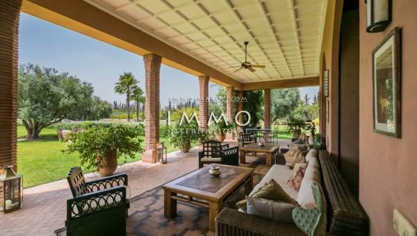 Maison à vendre Marocain Marrakech Extérieur Route Ourika