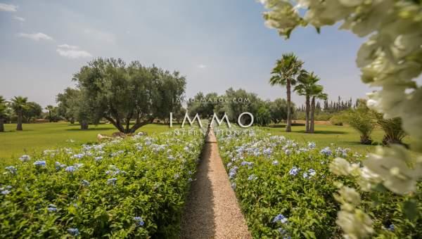 Vente maison Marocain luxe Marrakech Extérieur Route Ourika