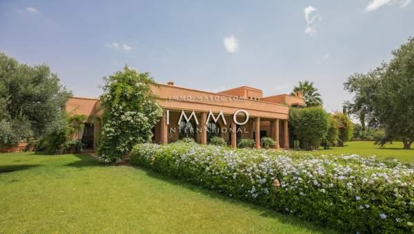 villa vente Marocain immobilier de luxe marrakech Marrakech Extérieur Route Ourika