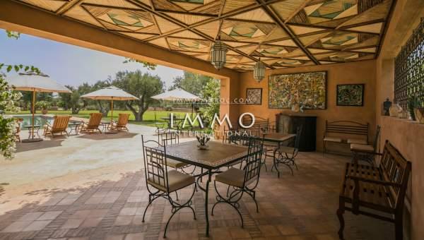 acheter maison Marocain prestige Marrakech Extérieur Route Ourika