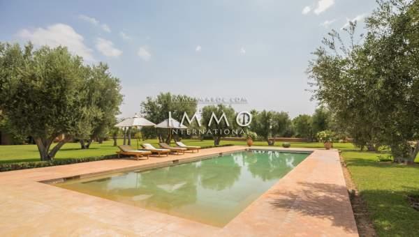 Maison à vendre Marocain luxueuses Marrakech Extérieur Route Ourika