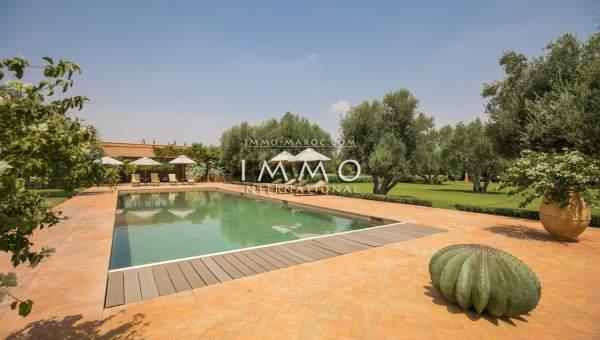 acheter maison Marocain immobilier luxe à vendre marrakech Marrakech Extérieur Route Ourika