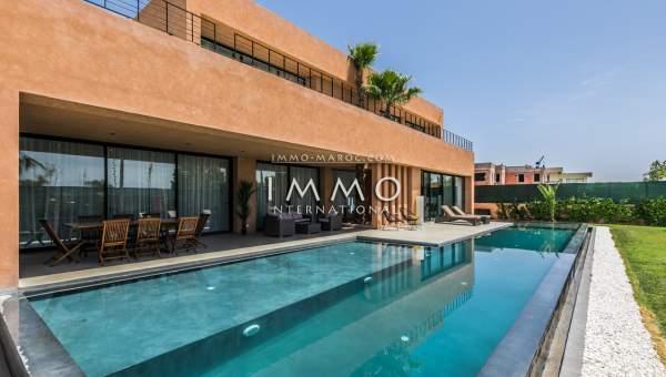 Villa à vendre Moderne haut de gamme Marrakech Golfs Amelkis