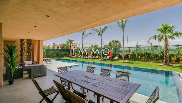 Maison à vendre Moderne agence immobiliere de luxe marrakech Marrakech Golfs Amelkis