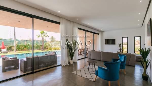 Villa à vendre Contemporain de prestige Marrakech Golfs Amelkis