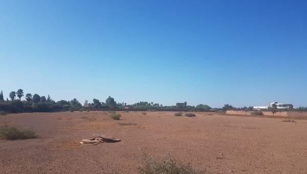 Vente terrain Terrain villa Marrakech Extérieur Route Amizmiz