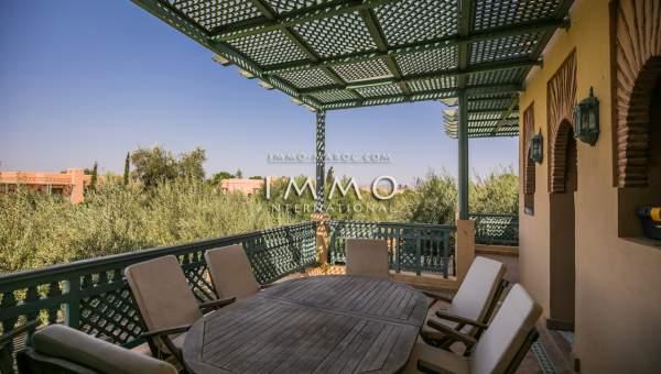acheter appartement Marocain épuré Marrakech Palmeraie