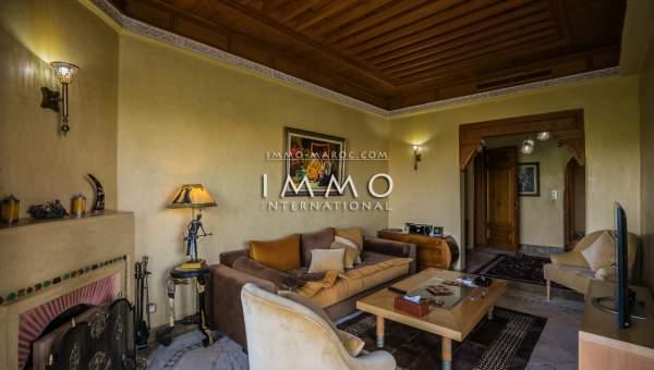 Vente appartement Marocain épuré Marrakech Palmeraie
