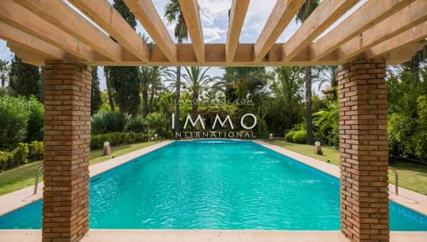 Vente villa Local Commercial luxe Marrakech Palmeraie Bab Atlas