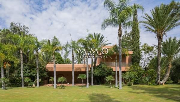 Vente villa Local Commercial prestige Marrakech Palmeraie Bab Atlas