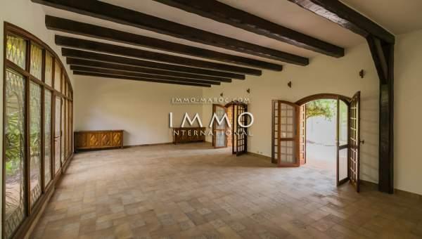 Achat villa Local Commercial prestige a vendre Marrakech Palmeraie Bab Atlas