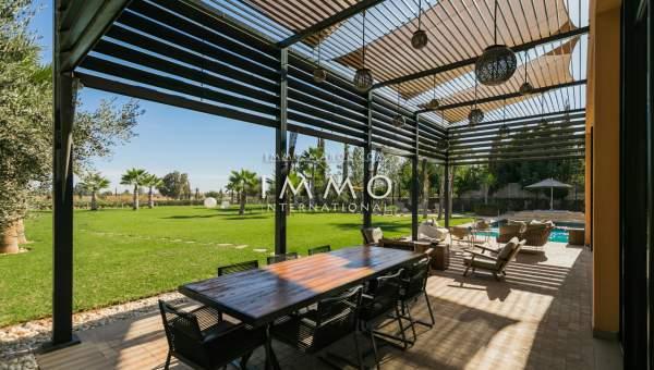 villa achat Moderne de prestige Marrakech Golfs Al Maaden