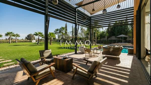 Maison à vendre Contemporain immobilier de luxe marrakech Marrakech Golfs Al Maaden