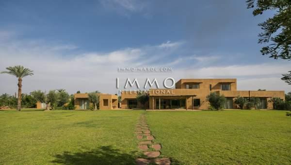 Achat villa Moderne Prestige Marrakech Extérieur Route Ouarzazate