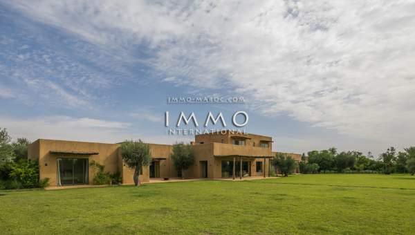 villa achat Contemporain de prestige Marrakech Extérieur Route Ouarzazate