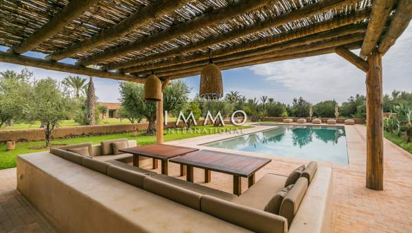 villa achat Contemporain haut de gamme Marrakech Extérieur Route Ouarzazate