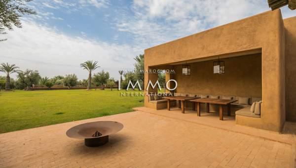 Maison à vendre Moderne Prestige Marrakech Extérieur Route Ouarzazate