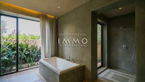 Villa à vendre Moderne Marrakech Extérieur Route Ouarzazate