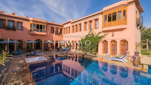 Vente villa Marocain Marrakech Palmeraie