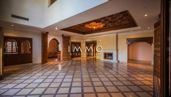 acheter maison Marocain luxe Marrakech Golfs Amelkis