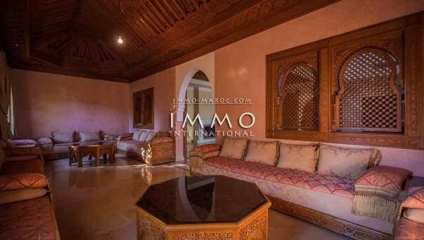 Vente maison Marocain propriete luxe marrakech à vendre Marrakech Golfs Amelkis