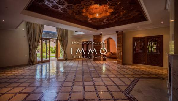 Vente maison Marocain agence immobiliere de luxe marrakech Marrakech Golfs Amelkis
