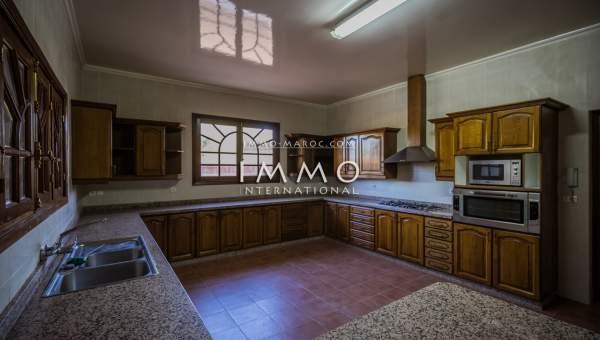 villa vente Marocain biens de prestige Marrakech Golfs Amelkis