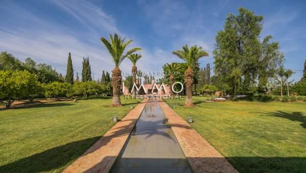 villa vente Contemporain luxe Marrakech Palmeraie Circuit Palmeraie
