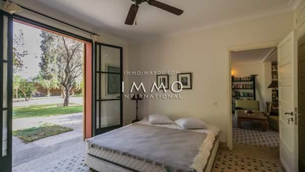 acheter maison Contemporain luxe Marrakech Palmeraie Circuit Palmeraie