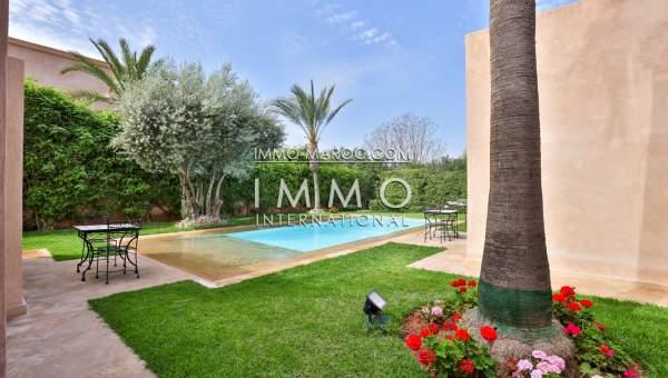 Vente maison Contemporain immobilier de luxe marrakech Marrakech Golfs Amelkis