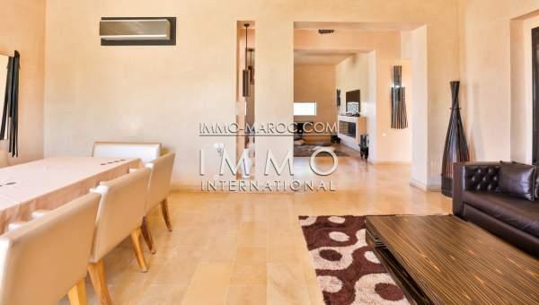 villa vente Moderne luxe Marrakech Golfs Amelkis