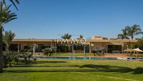 villa achat Contemporain propriete luxe marrakech à vendre Marrakech Golfs Amelkis