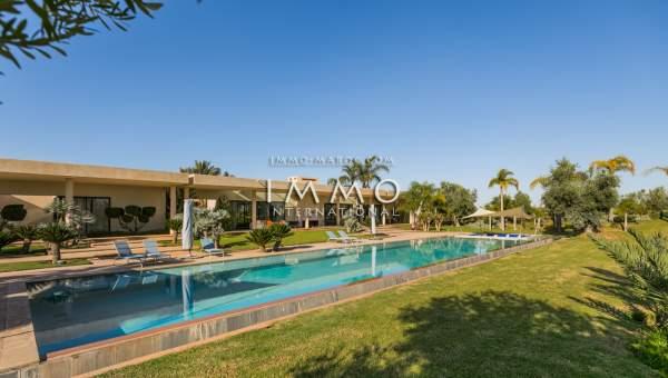 acheter maison Moderne de prestige Marrakech Golfs Amelkis