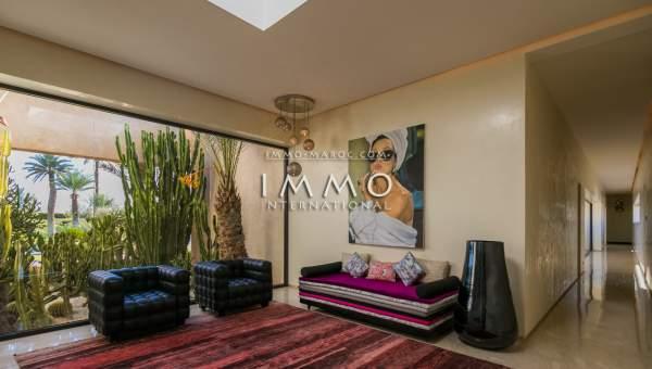 Maison à vendre Moderne luxe Marrakech Golfs Amelkis