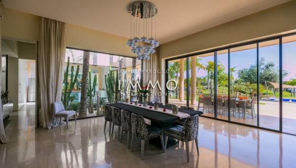 Vente maison Contemporain haut de gamme Marrakech Golfs Amelkis