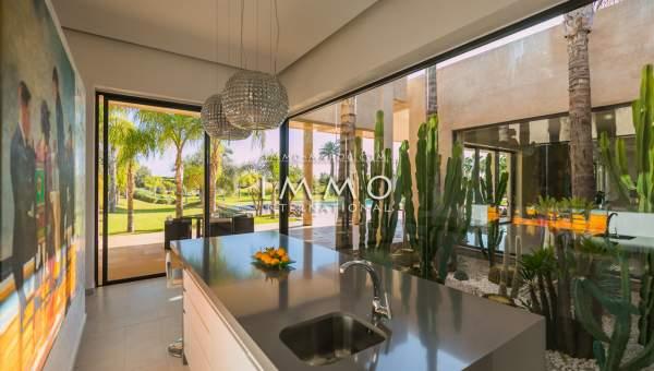 Vente maison Contemporain luxueuses Marrakech Golfs Amelkis